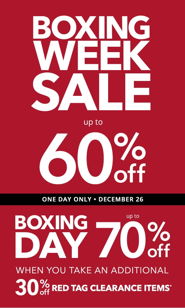 Payless Shoes Boxing Day Sale