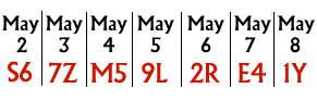 Name:  May-2nd-8th---SecretSeat.jpg Views: 152 Size:  6.8 KB