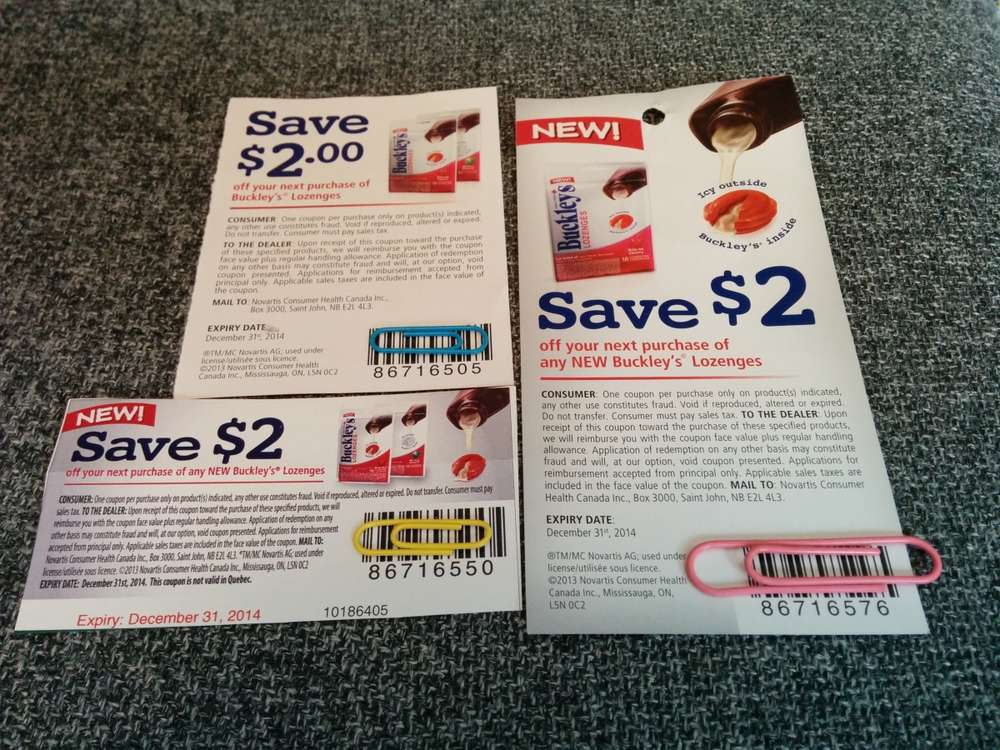 How to get coupons sent to my mailbox