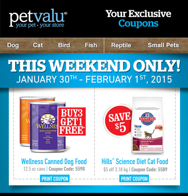 Coupons science diet dog food canada