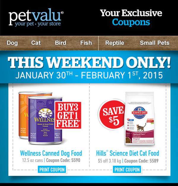 Cat food coupons canada