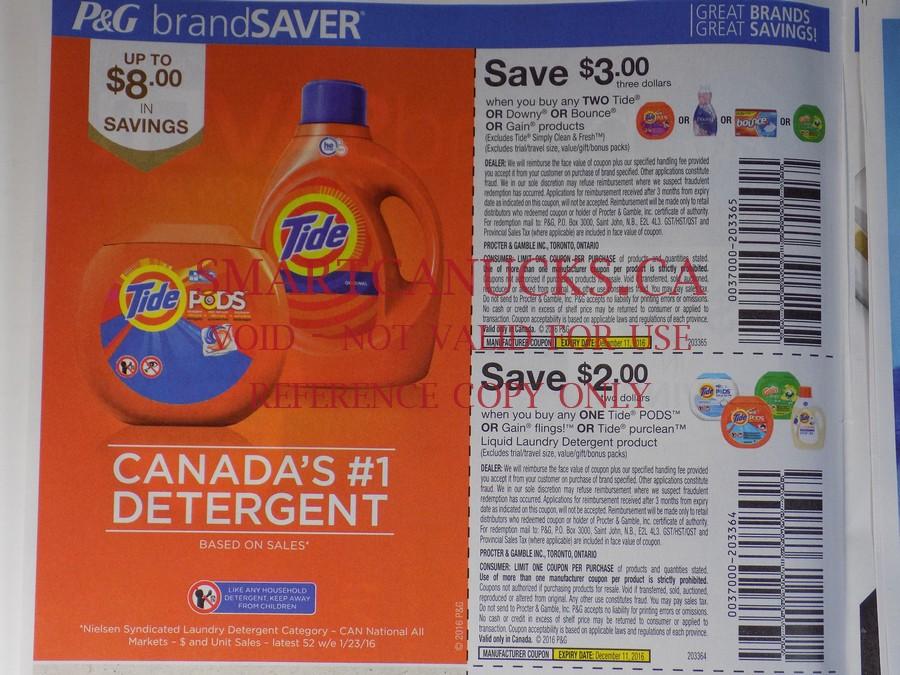P&g saver printable coupons