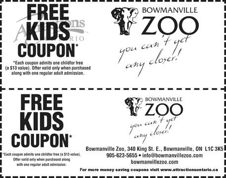 Calgary zoo discount coupons 2018