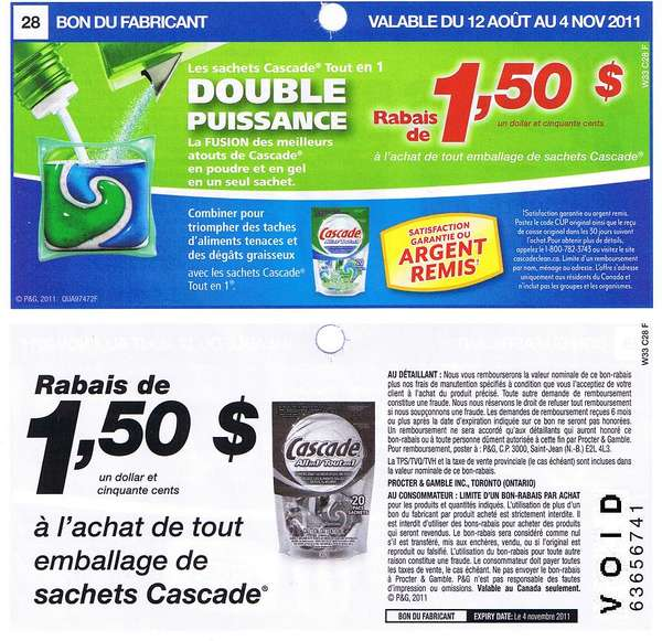 photograph relating to Cascade Coupons Printable identify Cascade packs coupon codes / Freecharge coupon code november 2018