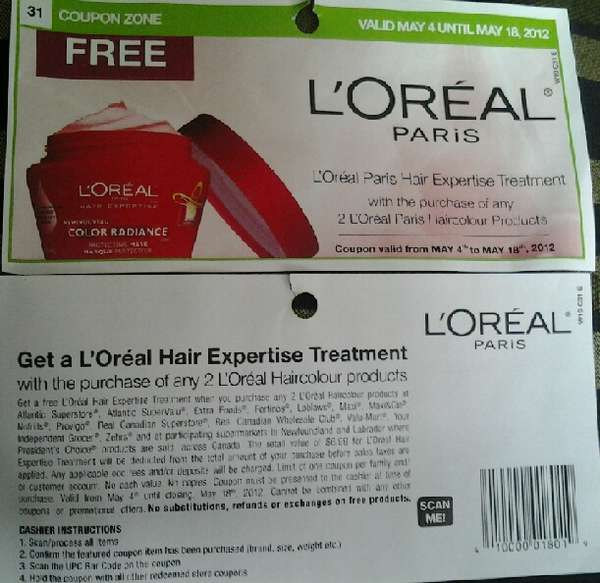 picture relating to Loreal Printable Coupons known as Loreal discount coupons canada / Simplest apple iphone 4s offers united kingdom spend as by yourself transfer