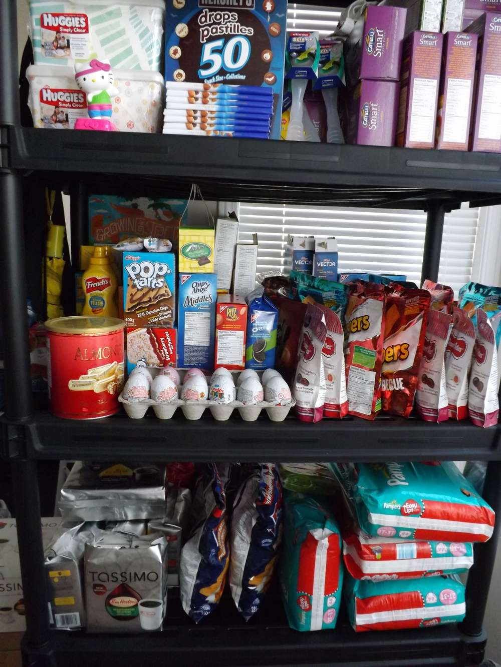 Two years of couponing gives me.....stockpile brag!