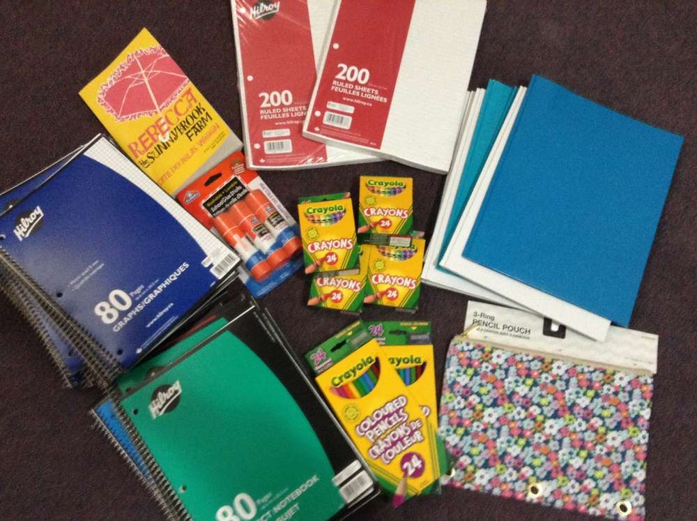 Cheap School Supplies Haul With Pic Target Loblaws
