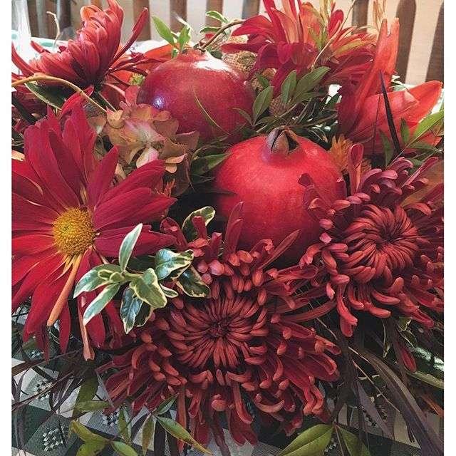 Name:  Pomegranate arrangement.jpg Views: 644 Size:  72.5 KB