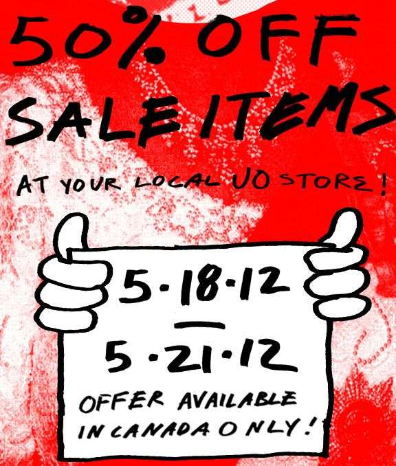 Nab up to 50% off sale items at Urban Outfitters Expires tomorrow Get deal Urban Outfitters Discount Code Urban Outfitters has long had the reputation as one of the UK's most popular fashion brands. So, then, it's understandable that there's a thirst for discount codes and vouchers that can save you some money! This sweet £15 off Urban Outfitters discount code kept everyone happy while it.