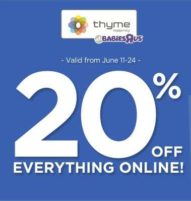 Thyme maternity coupon code