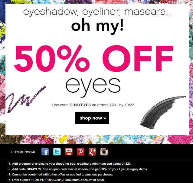 photograph about Elf Printable Coupons identified as On-line coupon codes for elf cosmetics - Computer system observe discount coupons