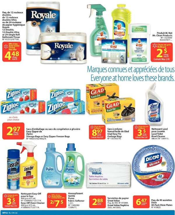 Flyer Walmart(QC) flyer Mar 17 to 23 Canada Flyers Coupons