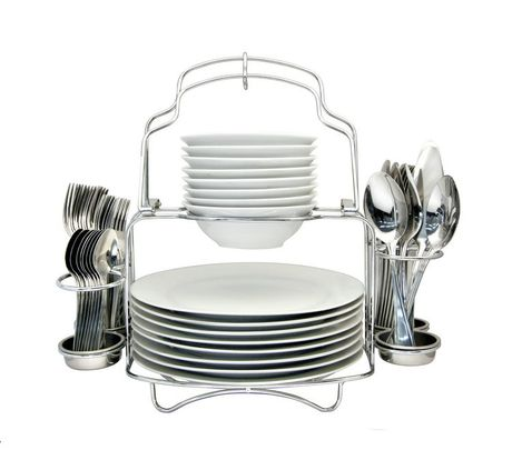 Walmart Hometrends 53pcs Buffet Serving Set 25