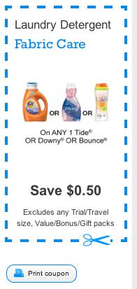 Dryer sheet coupons