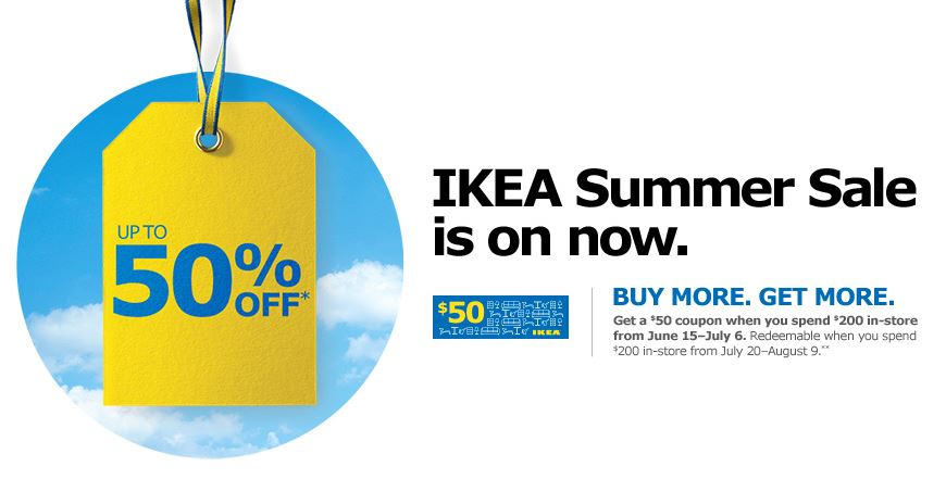 Coupons cannot be summed ikea