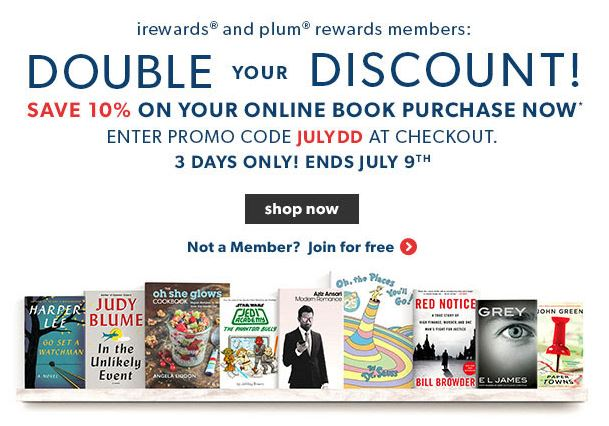 Double discount online shopping