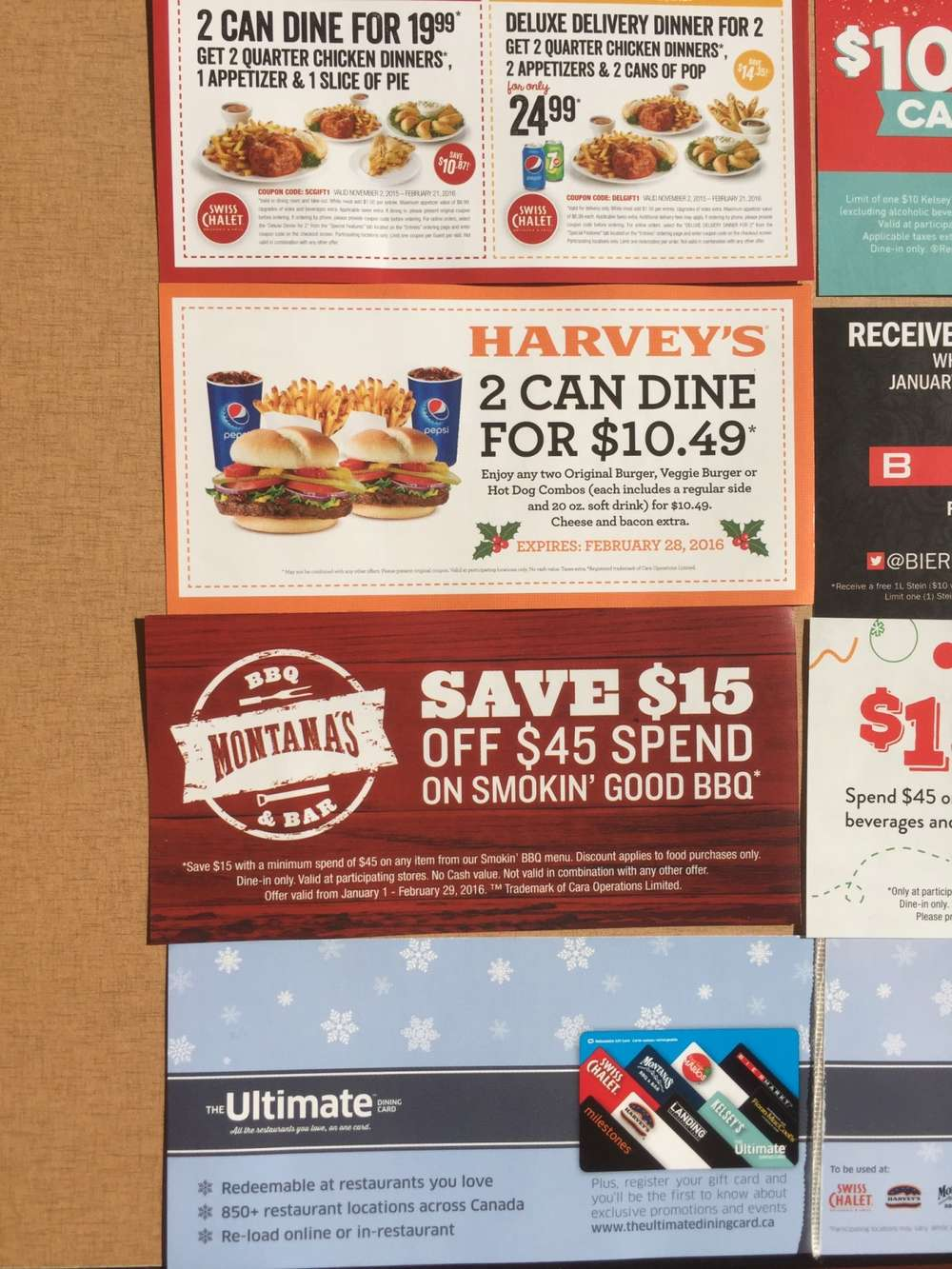 coupons value pack