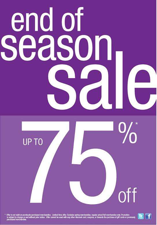 However, the fact is that all big e-commerce stores like Amazon with Amazon Wardrobe Refresh Sale, Flipkart End of Season Sale, Ebay, Paytm, Myntra End of Reason Sale, Jabong, etc. will be starting their respective EOSS. From marketplaces to niche online stores, almost every online store will be pulling out all stops to grab as many eyeballs for their End of Season Sale.