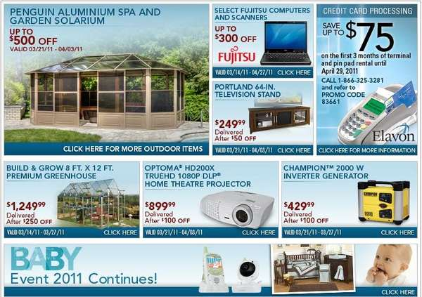 pin thread costco canada weekly printable coupon flyer on pinterest. Black Bedroom Furniture Sets. Home Design Ideas