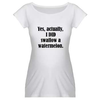 Funny pregnancy t shirts canada for Funny christmas maternity t shirts