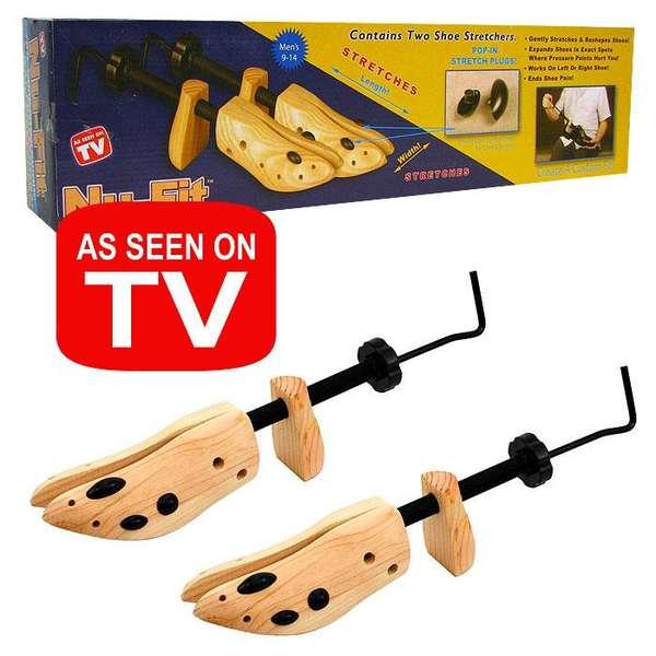 Ladies Two-Way Wood Shoe Stretcher