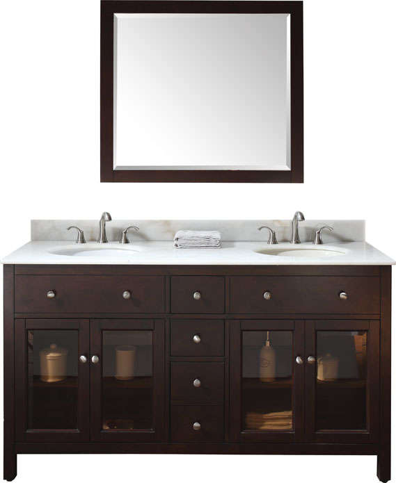 Warehouse Sale Of Bathroom Vanities With Marble Tops And