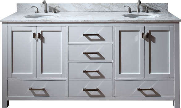 Warehouse sale of Bathroom vanities with marble tops and ...