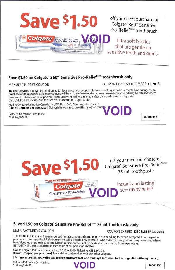 Colgate 50 cent coupon