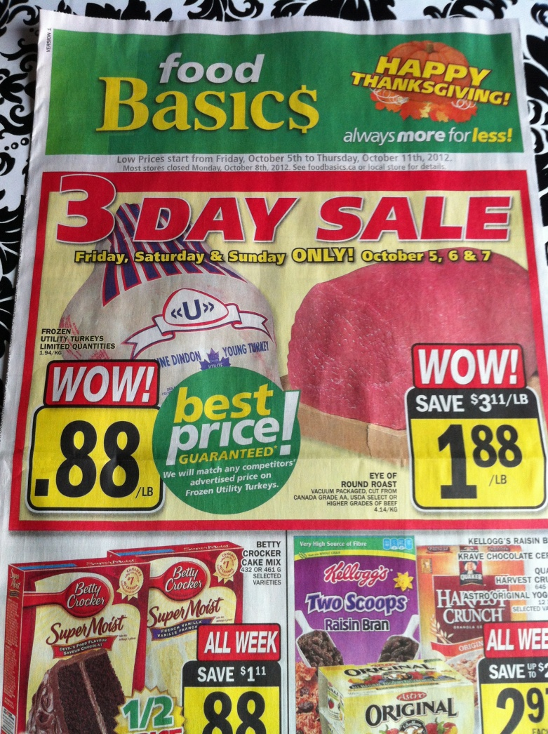 Food Basics Flyer Ontario