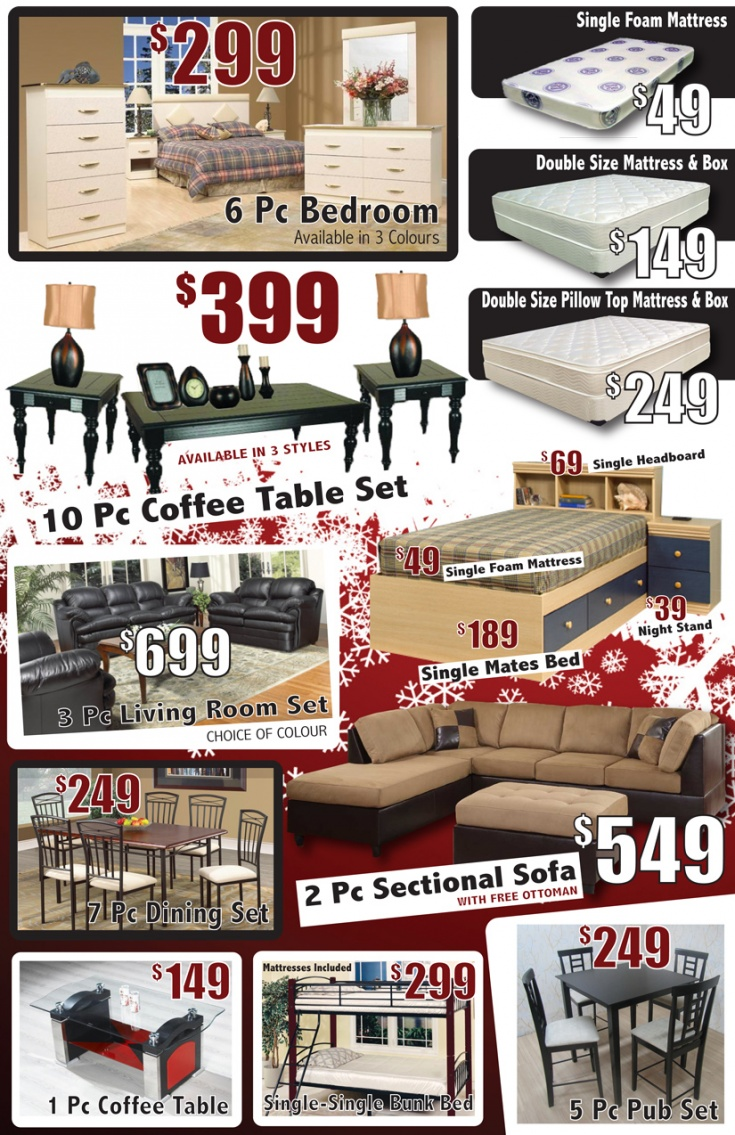 Leons Furniture Kitchener Furniture Club Black Friday Flyer