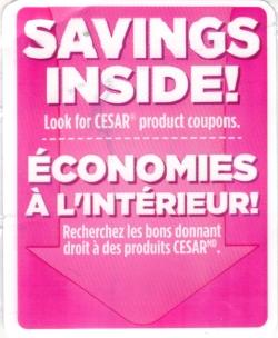Cesar coupons canada