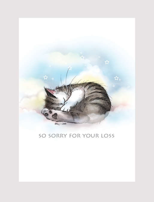 sorry for your loss cat