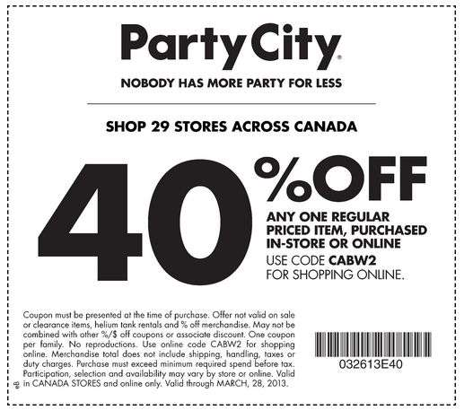 Party city coupons 2019 not expired