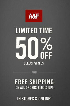 save money with 70 abercrombie promo codes discount codes in november 2017this archive page lists printable abercrombie and fitch discounts and coupons
