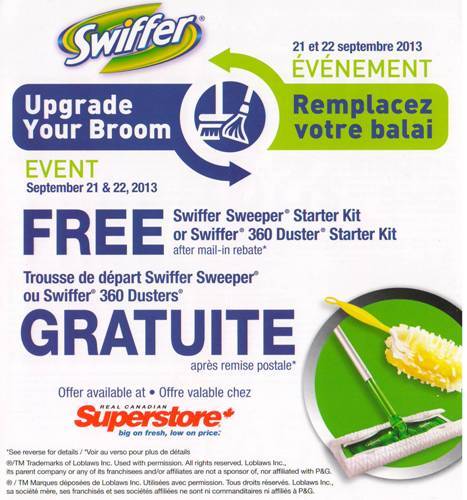Swiffer vac printable coupon canada