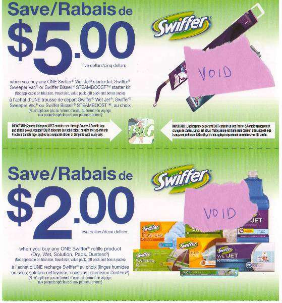 image about Swiffer Coupons Printable titled Swiffer canada discount coupons / Video clip studio grill lewisville showtimes