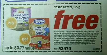 Nestle good start coupons printable