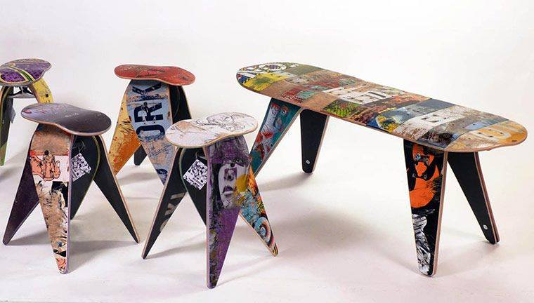 Name:  recycled skate boards.jpg