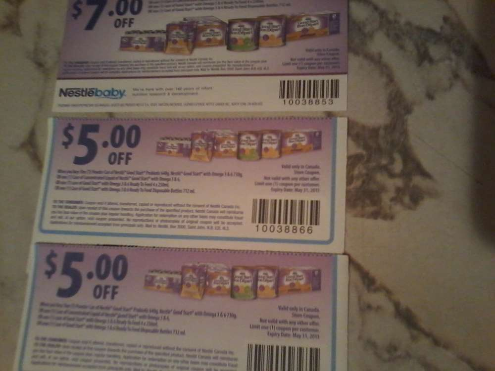 Find Nestle Good Start Coupons in Canada | Visit Kijiji Classifieds to buy, sell, or trade almost anything! New and used items, cars, real estate, jobs, services, vacation rentals and .