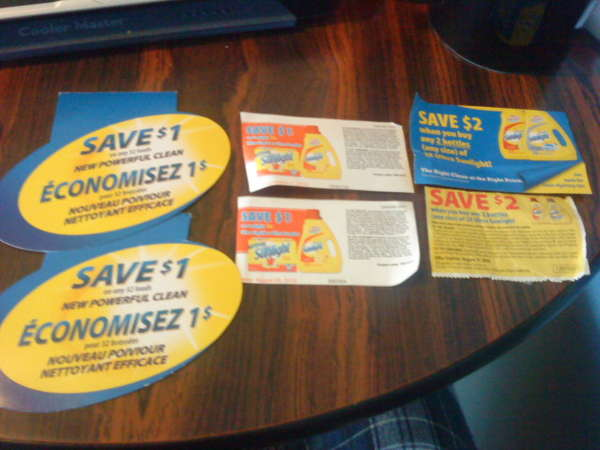Coupons sunlight laundry detergent