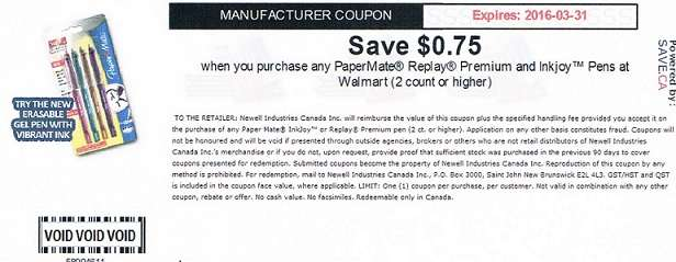 Name:  CK51 Walmart PaperMate Coupon.jpg Views: 787 Size:  25.7 KB