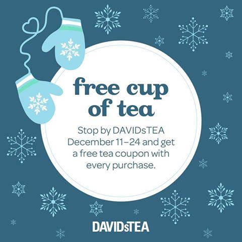 Davids Tea Coupon Canada