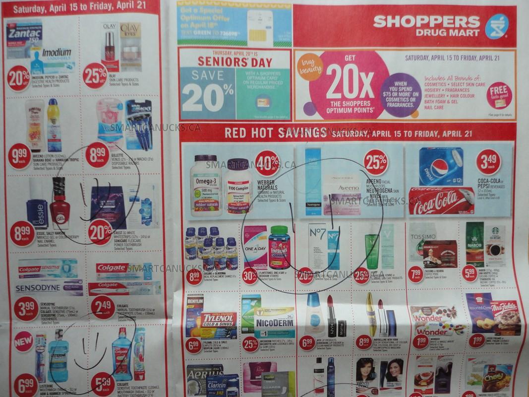 Shoppers Drug Mart (ON) April 15 - 21