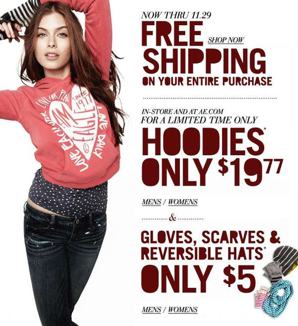 19 77 ae hoodies offer valid while supplies last $ 5 ae gloves