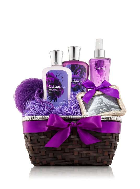Handmade Bath Gift Basket : Bath body works signature collection gift baskets
