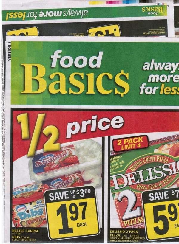 Toronto Food Basic Flyer