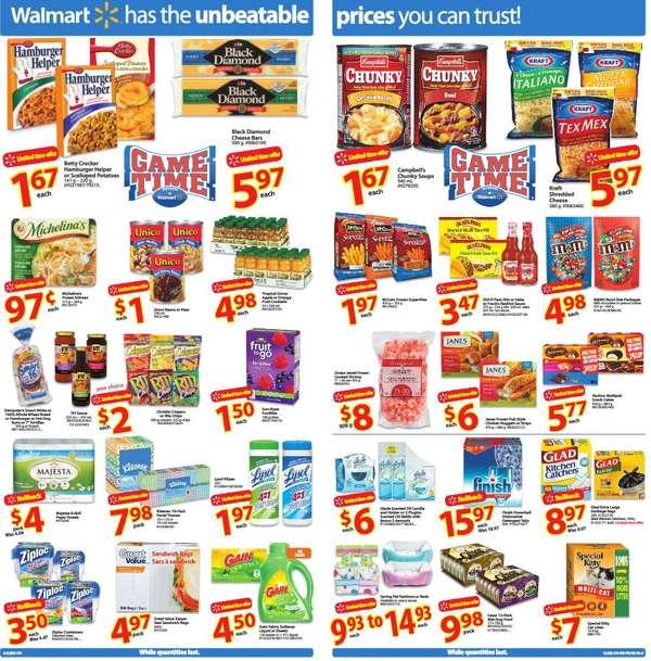 Walmart Supercentre,Grocery & Regular flyer(ON) Jan 28 to Feb 3
