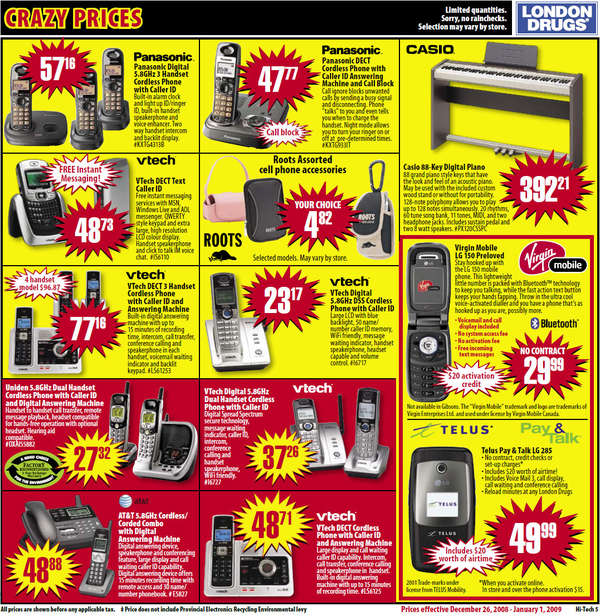 Quotes From Boo Radley With Page Numbers: London Drugs Boxing Day / Week *TECH* Flyer Sales