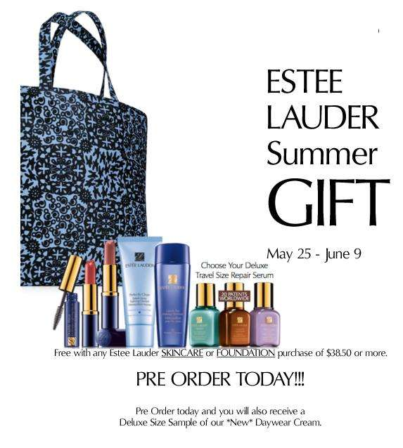 Thread: The Bay - Estee Lauder Gift with purchase(May 25 to Jun 9)