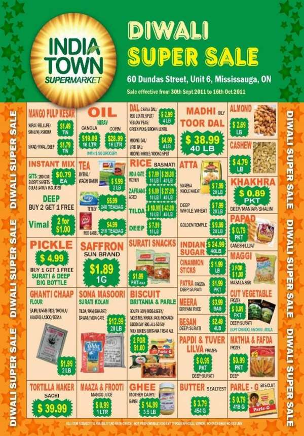 india town supermarket mississauga flyer